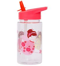 A Little Lovely Company Water Bottle w. Spout - 450 ml - Pink