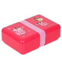 A Little Lovely Company Lunchbox - Pink w. Fairies