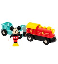 BRIO Mickey Mouse Train - 17,9 cm - 3 Parts - Battery Powered -
