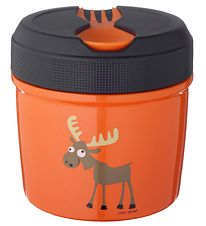 Carl Oscar Thermo Lunchbox - 0,5 l - Orange Moose