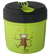 Carl Oscar Thermo Lunchbox - 0,5 l - Lime Monkey