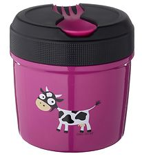 Carl Oscar Thermo Lunchbox - 0,5 l - Purple Cow