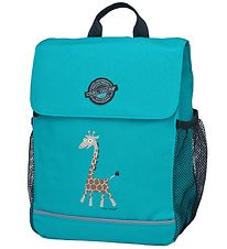 Carl Oscar Backpack - 8 l - Turquoise Giraffe