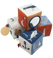Sebra Stacking Boxes - Soft - 4 pcs - Seven Seas