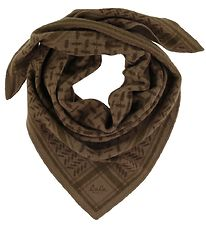 Lala Berlin Scarf - 95x45 - Triangle Trinity Colored S - Chocola