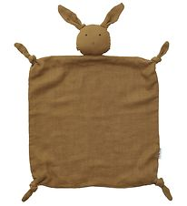 Liewood Comfort Blanket - 35x35 - Agnete - Rabbit Olive Green
