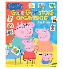 Alvilda Book - Play & Learn - Peppa Pigs Big Exercise Book