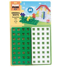 Plus-Plus Big - Baseplate Duo - Green/White