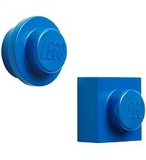 Lego Storage Magnets - 2 pcs - Blue