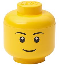 Lego Storage Storage Box - Mini - Head - 10 cm - Boy