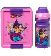 Lego Storage Lunch Box Set - Friends - Purple/Rose