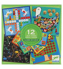 Djeco Board Game - 12-in-one