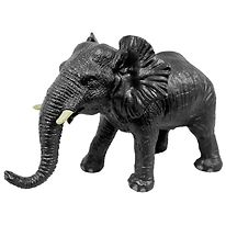 Green Rubber Toys Animals - 24 cm - African Elephant