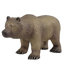 Green Rubber Toys Animals - 33 cm - Grizzly Bear