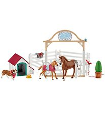 Schleich Horse Club - 64 cm - Hannahs Guest Horses With Dog