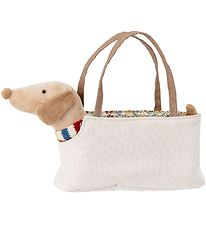 Bloomingville Soft Toy - 15 cm - Dog w. Bag