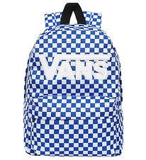 Vans Backpack - White/Blue w. Logo