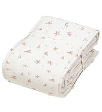 Cam Cam Bed Bumper - Windflower Creme