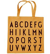 Design Letters Totebag - ABC - Mustard