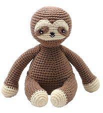 NatureZoo Soft Toy - 23 cm - Sloth - Brown
