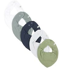 Pippi Teething Bib - 5-Pack - Lead