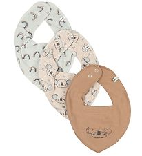 Pippi Teething Bib - 3-Pack - Sandshell