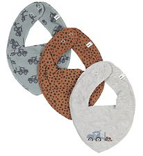 Pippi Teething Bib - 3-Pack - Lead