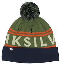 Quiksilver Hat - Double Layer - Knitted - Summit - Military Oliv