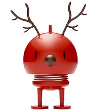 Hoptimist Reindeer Bumble - Medium - Red