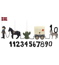 Kids by Friis Birthday Train - 45 cm - Cowboy w. 11 Numbers