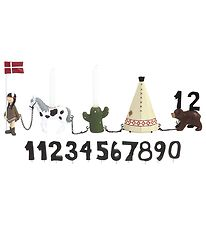 Kids By Friis Birthday Train - w. 11 Numbers