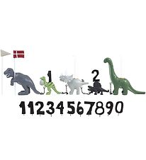 Kids By Friis Birthday Train - Dinosaur w. 11 Numbers