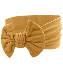 Bows By Stær Headband - Astrid - Curry w. Bow