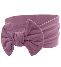 Bows By Stær Headband - Astrid - Purple w. Bow