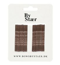Bows By Stær Hairpins - 24 pcs. - Brown