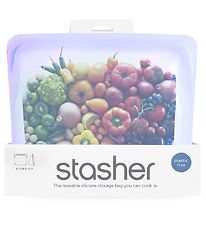 Stasher Storage Bag - Stand-up - 1,66 l - Amethyst