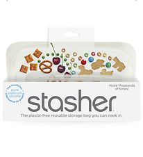 Stasher Storage Bag - Snack - 293,5 ml - Clear