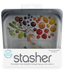 Stasher Storage Bag - Medium - 450 ml - Ash