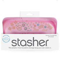 Stasher Storage Bag - Snack - 293,5 ml - Raspberry