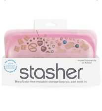 Stasher Storage Bag - Snack - 293,5 ml - Rose Quartz