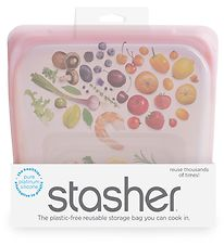 Stasher Storage Bag - Medium - 450 ml - Rose Quartz