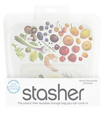 Stasher Storage Bag - Medium - 450 ml - Milky Way