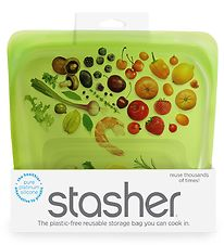 Stasher Storage Bag - Medium - 450 ml - Lime