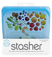 Stasher Storage Bag - Medium - 450 ml - Topaz