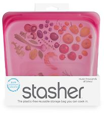 Stasher Storage Bag - Medium - 450 ml - Raspberry