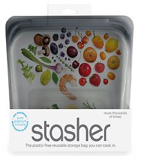 Stasher Storage Bag - Half Gallon - 1,92 l - Ash