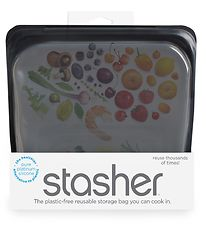 Stasher Storage Bag - Medium - 450 ml - Obsidian