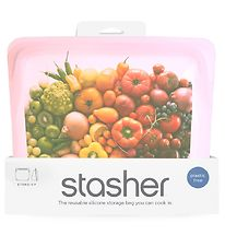 Stasher Storage Bag - Stand-up - 1,66 l - Rose Quartz
