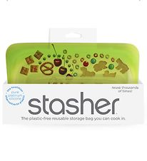 Stasher Storage Bag - Snack - 293,5 ml - Lime