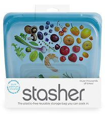 Stasher Storage Bag - Medium - 450 ml - Blueberry